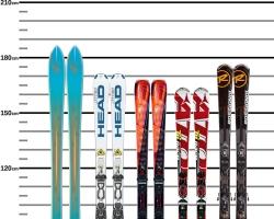 Как правильно выбрать ростовку горных лыж?