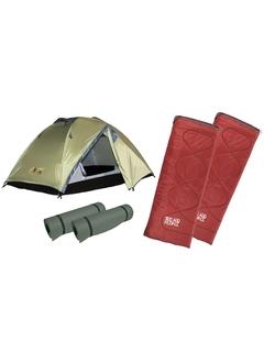 Комплект Easy Camp Chakra + Indiana Lagos 2 + 2 туристические пенки