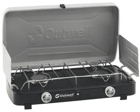 Газовая плита Outwell Gourmet Cooker 2-Burner Stove w/Lid