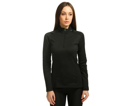 Термобелье Salomon кофта HV WT Long Sleeve Zip Neck W