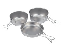 Набор посуды Snow Peak Cook Set Ti