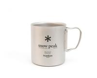 Кружка Snow Peak Titanium Double Wall Cup 600