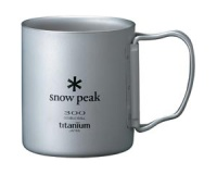 Кружка Snow Peak Titanium Double Wall Cup 300