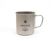 Кружка Snow Peak Titanium Single Wall Cup 600