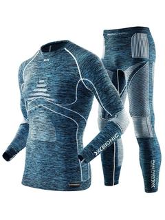 X-Bionic комплект Energy Accumulator Evo Melange Men