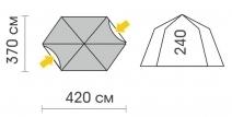 Схема Шатер Talberg Arbour