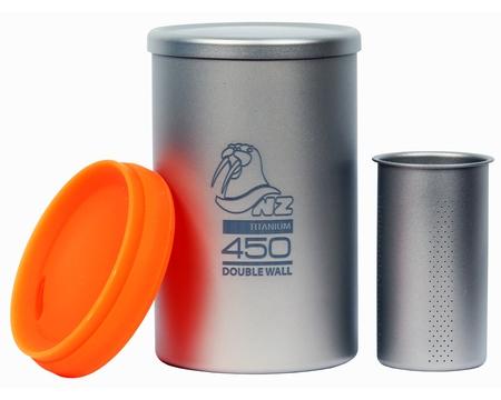 Термостакан NZ 450 мл с крышкой и ситечком Ti Tea Cup 450 ml