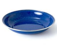 Миска глубокая с ободком эмалированная GSI Cereal Bowl Stainless Rim blue