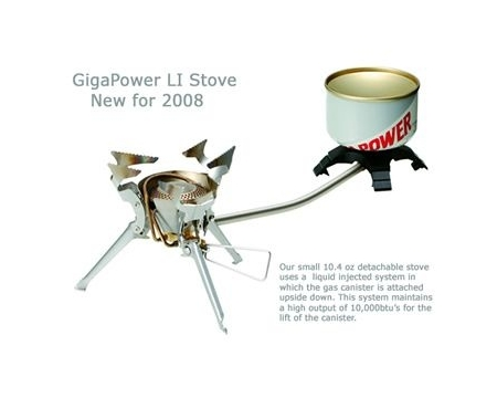Газовая горелка Snow Peak GigaPower LI Stove Backpacking GS-320