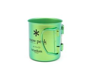 Кружка Snow Peak Titanium Single Wall Cup 450