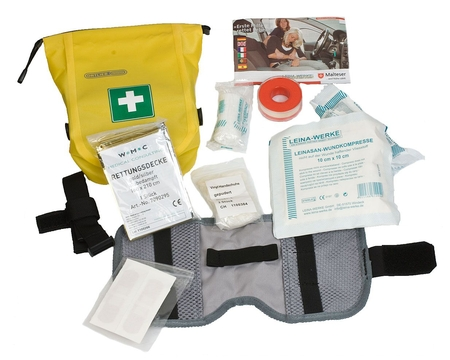 Гермосумка медицинская Ortlieb First-Aid-Kit Safety Level Medium