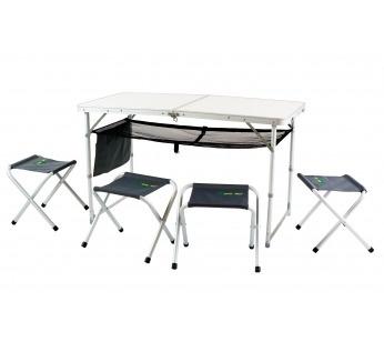 Стол со стульями Canadian Camper СС-TA407S