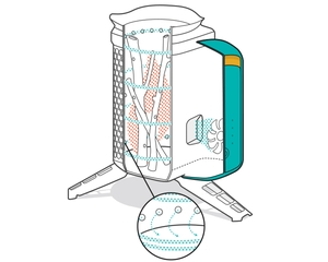 Печь-щепочница BioLite Cookstove