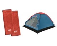 Комплект BTrace палатка Space + два спальника Easy Camp Chakra