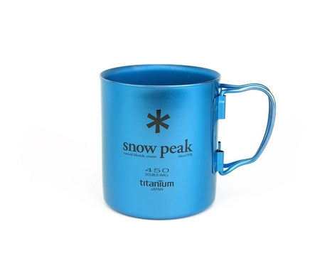 Кружка Snow Peak Titanium Double Wall Cup 450