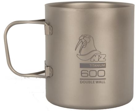 Термокружка NZ Титановая Ti Double Wall Mug 600 ml