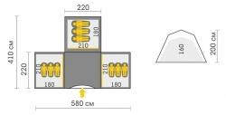 Схема Палатка Talberg Base Super 9