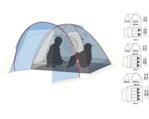 Палатка Canadian Camper Rino 2