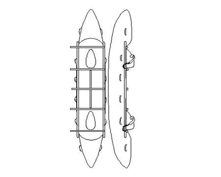 Катамаран Raftmaster FOX-804