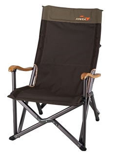 Кресло Kovea Field Luxury Black Chair