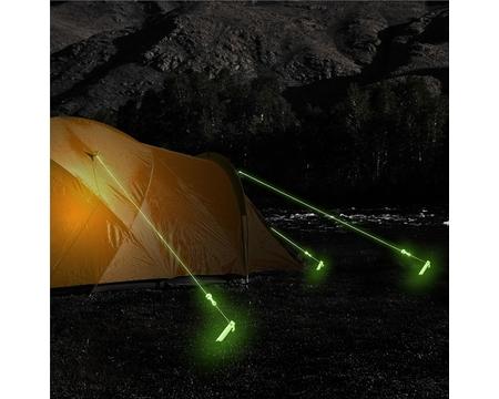 Колышки люминесцентные AceCamp Glow in the dark Steel Peg 2795