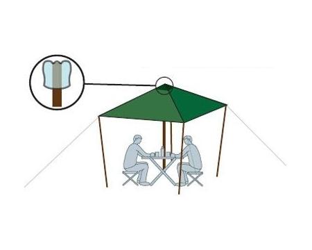 Тент Alexika Tent 500x400