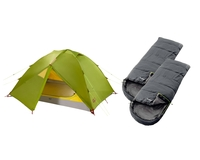 Комплект Jack Wolfskin Eclipse II + 2 Outwell Campion