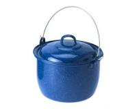 Кастрюля эмалированная GSI Convex Kettle 4,5 литра blue