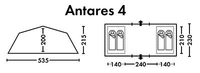 Палатка FHM Antares 4